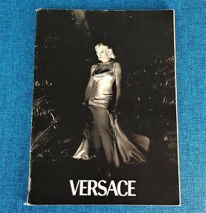 MADONNA VERSACE CATALOG PROMO BOOK #28 Primavera Estate 1995 Steven Meisel