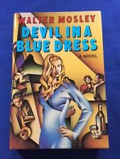 DEVIL IN A BLUE DRESS - FIRST EDITION REVIEW COPY SIGNED BY WALTER MOSLEY