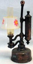 "Vintage STUDENT OIL LAMP Novelty Pencil Sharpener MINIATURE DOLLHOUSE SIZE 3.5"""