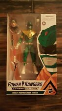 """Power Rangers Lightning Collection 6"""" Mighty Morphin Green Ranger New Tommy"""
