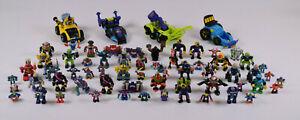 1992-1994 Micro Machines Galoob Z-Bots Lot of 62 Robots Plus 4 Vehicles