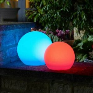 Large LED Ball Colour Changing Sphere Mood Lighting Outdoor Indoor Garden Decor