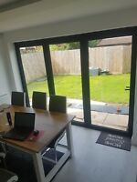 !NEW!,Tri fold door,Aluminium bi fold doors,patio door,£271+ vat m2,folding door