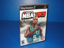 NBA 2K9 for PS2 PlayStation 2 Brand New Sealed - Free U.S. Shipping - Nice