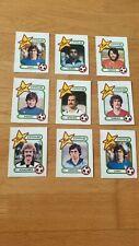 Panini spain 82 world cup 1982 Espana - 9  stickers - original