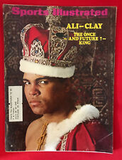 VINTAGE SPORTS ILLUSTRATED MAY 5TH 1969 MUHAMMAD ALI  CASSIUS CLAY