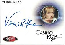 James Bond 50th Anniversary: Veruschka  autograph