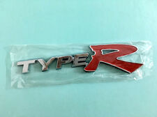 Type R Sticker Brand New Auto Car 3D ABS Logo Badge Decal Emblem