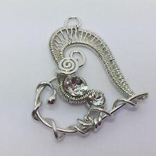 Pendant + Free Shamballa Bracelet Mothers Day Ideas visit www.ferneydesigns.com