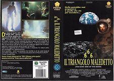 666 IL TRIANGOLO MALEDETTO (1990) vhs ex noleggio