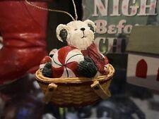 "Boyds Bearstone Ornament ""Flurrie Frostbeary"" #25704Lb- Le -Nib- Retired"