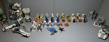 Lot LEGO Star Wars - 33 Minifigs + vrac