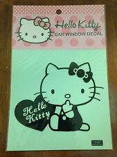 Hello Kitty Car Window Decal