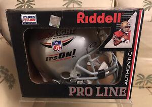 NFL Coors Light Riddell Redskins ProLine Authentic VSR-4 Football Helmet-Custom