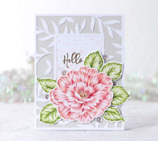 Flowers Transparent Clear Silicone Stamp/Seal DIY Scrapbooking/photo album Card