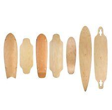 Ridge Skateboards Natural Range Mini Longboard Decks Maple 4 Different Styles