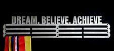 Medal Hanger/Holder/Display/Rack- *DREAM BELIEVE ACHIEVE* STEEL STORE 60 MEDALS