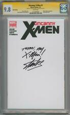 UNCANNY X-MEN #1 BLANK CGC 9.8 SIGNATURE SERIES SIGNED STAN LEE QUOTE MARVEL