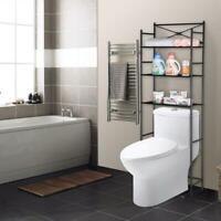 3 Tier Over Toilet Shelf Rack Bathroom Space Save Towel Storage Organizer Stand