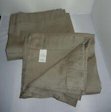 "2 LN SAGE DRAPERY PANELS Curtain95"" x 54"" Rod Pocket/Back Tab JCP Linden Street"