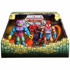 IN-HAND Masters of the Universe Classics Rotar and & Twistoid MOTUC RARE He-man