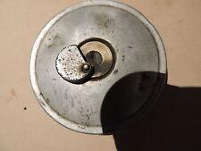 BMW r51/2 COPERCHIO SERBATOIO BLU CON LUCCHETTO LOCK tankcap ALLUMINIO ORIGINALE r51/3 r68