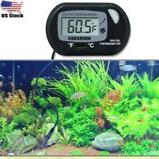Lcd Digital Fish Tank Aquarium Thermometer Submersible Water Temperature Meter