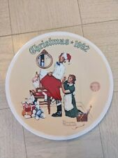"""New ListingNorman Rockwell 1992 Christmas Plate """"Christmas Surprise� with certification"""