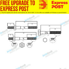 1995-1998 For Daewoo Espero C20LE Head Bolt Set 5