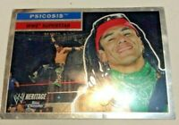 2006 Topps Chrome Heritage WWE Superstar Psicosis #42 Wrestling Trading Card