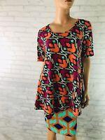 Lularoe Perfect T Shirt Size Medium Geometric