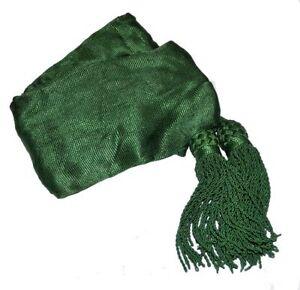 American Civil War ACW Medical Officers Or Irish Brigade Green Silk Sash