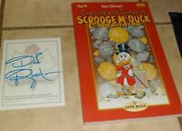 Life and Times of Scrooge McDuck Companion (Paperback) (Signed bookplate) Rosa