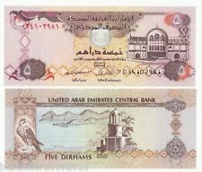 UNITED ARAB EMIRATES UAE 5 DIRHAMS UNC # 295