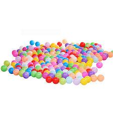 200x Bunte Farben Bälle Kinderbälle Spielbälle Bällebad Kugelbad Bälle 5.5cm