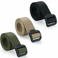 Casual Men's Military Combat Outdoor Sports Tactical Nylon Canvas Waistband Belt
