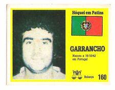 Vintage Portugese Golden Idols Sticker  Ice Hockey Player Garrancho