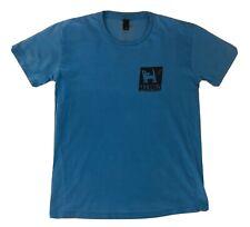 Mambo Surf Deluxe M Medium T-Shirt Blue Black Skate Australia Limited Edition