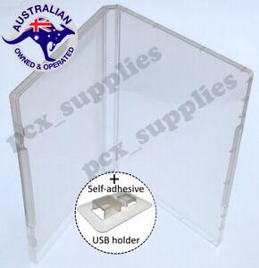 Super Clear Single USB flash drive Storage Poly Case