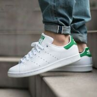 NEW Adidas Originals Stan Smith Shoes Sneaker White Green M20324 Men's Size 14.5
