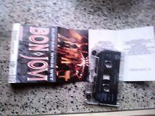 MC MUSICASSETTA TAPE MK7 BON JOVI SLIPPERY WHEN WET + SHEET PIEGHEVOLE