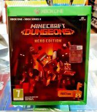 Minecraft Dungeons - Hero Edition XBOX ONE NUOVO SIGILLATO ITA