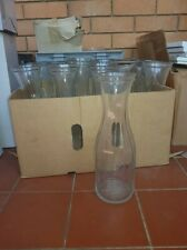 17 glass ikea water vases, perfect for catering functions like weddings