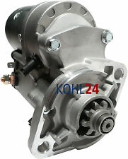 Motor de arranque Bobcat Kubota New Holland v1902 d1402 v1702 v1903 f2302 v2203, etc. OE