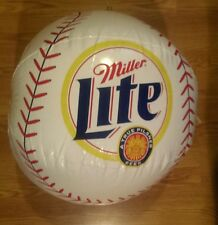 Miller Lite inflatable baseball