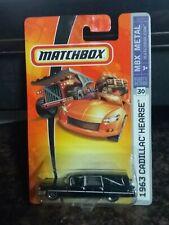 Matchbox 1963 Black Cadillac Hearse