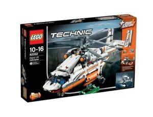 LEGO Technic 42052 Heavy Lift Helicopter Cargo Sea Plane Boy Girl Gift STEM NEW!