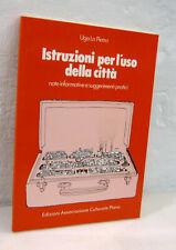 Ugo La Pietra,ISTRUZIONI PER L'USO DELLA CITTÀ,1979 Plana[architettura