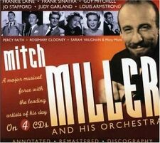 Mitch Miller Major Musical Force With The Leading Artists Of 4 CD NEW sealed