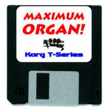 KORG T1 T2 T3 ORGAN SOUND CARD DISK T 1 2 3 T-SERIES